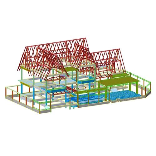 รับออกแบบโครงสร้างบ้าน