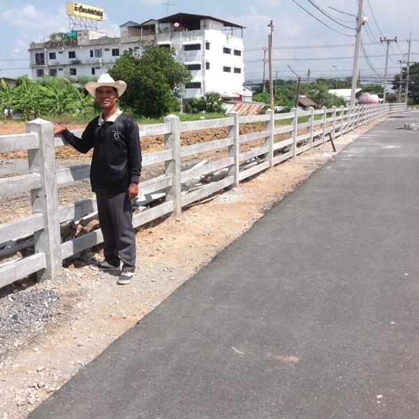 ตัวอย่างผลงานรั้วบ้าน นนทบุรี
