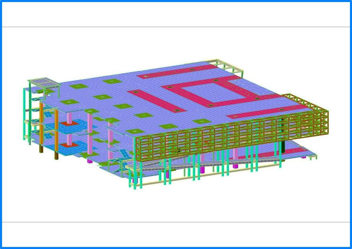 รับออกแบบโครงสร้างอาคารขนาดใหญ่