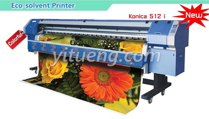 เครื่องพิมพ์ High speed Konica 512I 30PL 120M2/h (4 หัวพิมพ์ 4 สี) โซเว้น