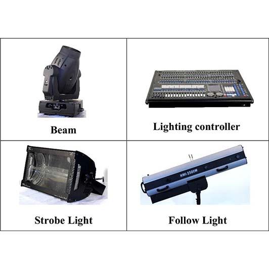 ให้เช่าระบบแสง
