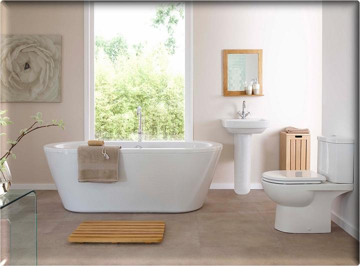 ออกแบบตกแต่งภายในห้องน้ำ