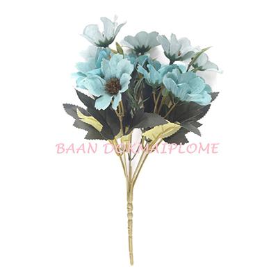 ดอกไม้ปลอม  ดอกเดซี่สีฟ้า