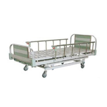 เตียงผู้ป่วยมือหมุน
