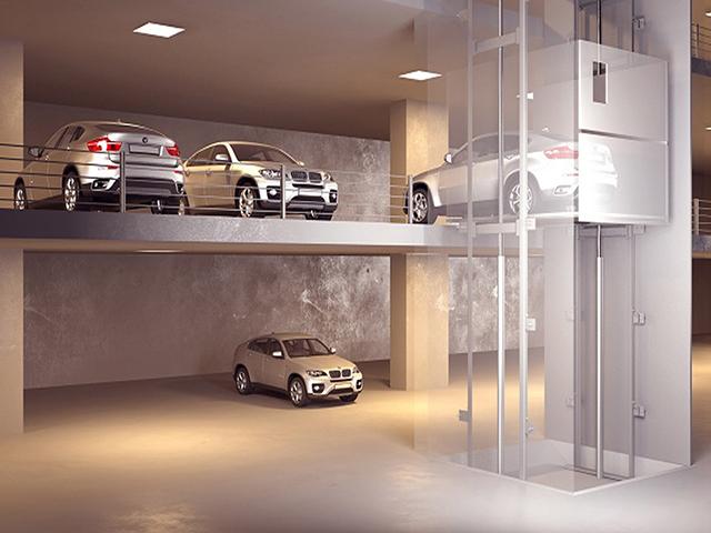 ลิฟท์บรรทุกรถยนต์ (Automobile Elevator)