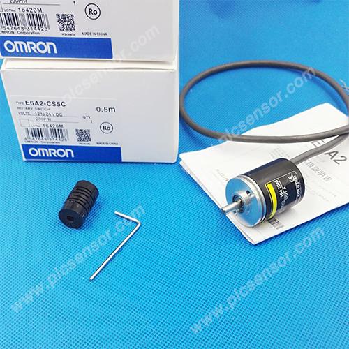 1. E6A2-CS5C Omron Rotary switch