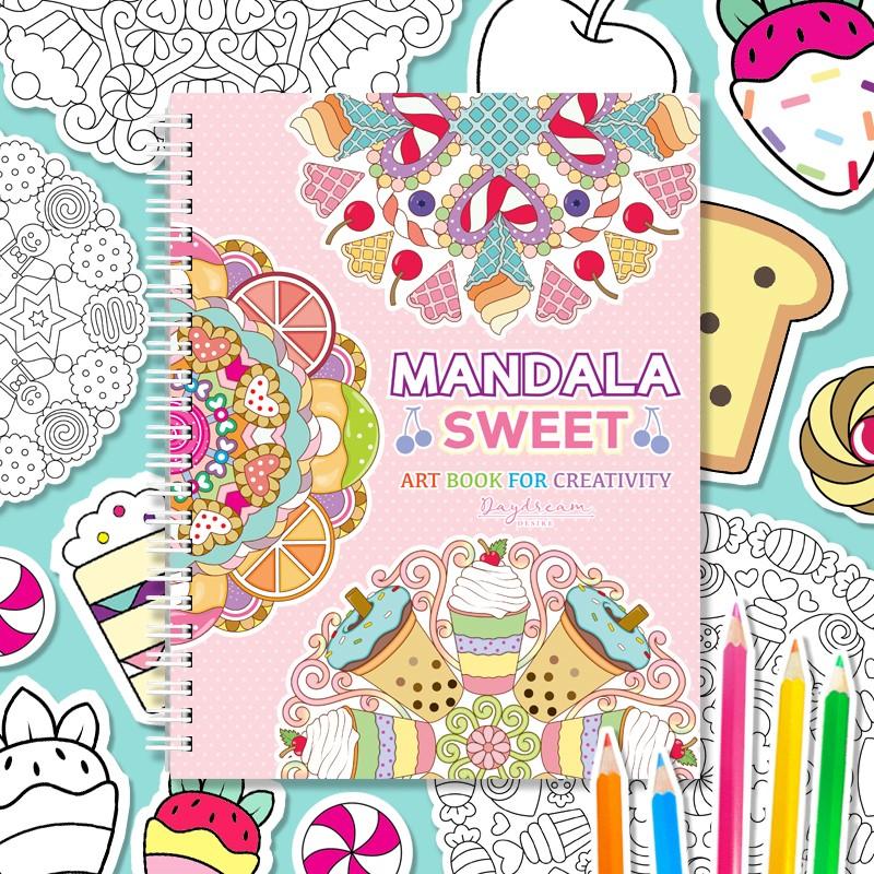 Mandala Sweet Art Book