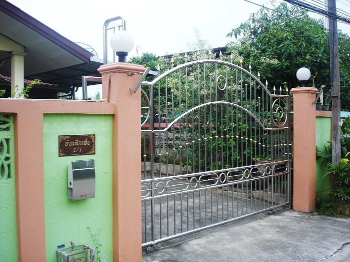 ประตูรั้วสแตนเลส