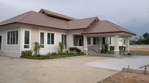 Modern Home Style Building