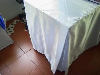 ผ้าคลุมโต๊ะทวิชมุม 4 มุม