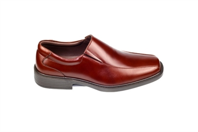 Men leather shoes (Brown) VICTORY
