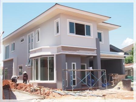 รับสร้างบ้านเดี่ยว 2 ชั้น