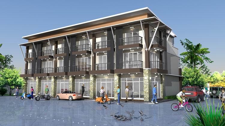 รับสร้างอาคารพาณิชย์เชียงใหม่
