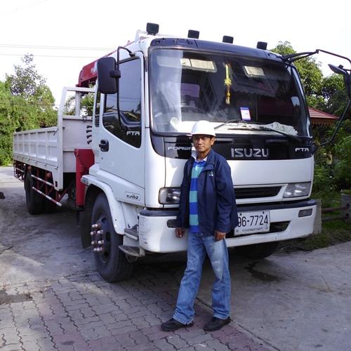 รถบรรทุกขนส่งรับจ้าง