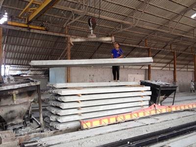โรงงานผลิตเสาเข็มคอนกรีตอัดแรง