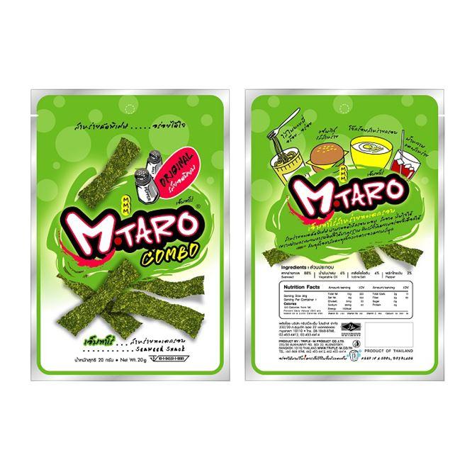 Crispy Seaweed Snack (M-Taro)
