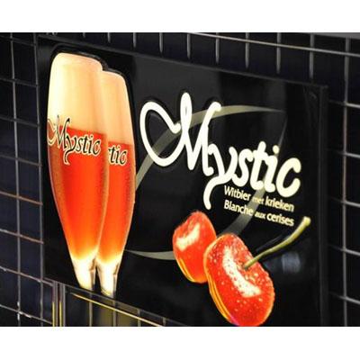 Mystic งานป้ายโฆษณา-กล่องไฟ