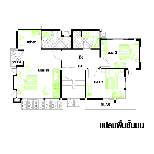 แบบบ้าน 5 ชั้น