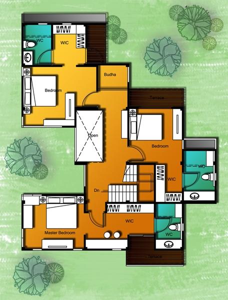 แบบบ้าน 6 ชั้น