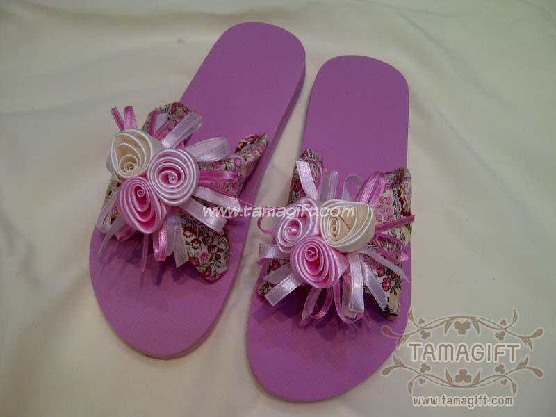 รองเท้าดอกไม้ Hand Made
