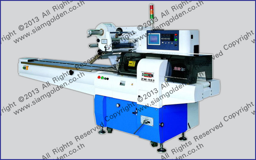 HORIZONTAL PACKAGING MACHINE MODEL : SGS-501