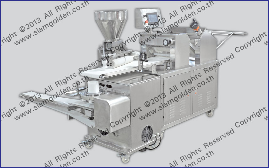 THE PRODUCTION LINE OF BREADS ZR 198B
