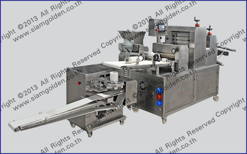 THE PRODUCTION LINE OF BREADS ZR 398A