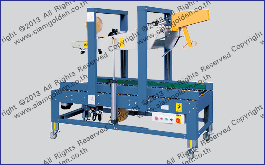 FULLY AUTOMATIC FLAP FOLDING SEALER : SGS-6605A