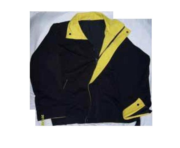 แบบแจ็คเก็ต สีดำเหลือง