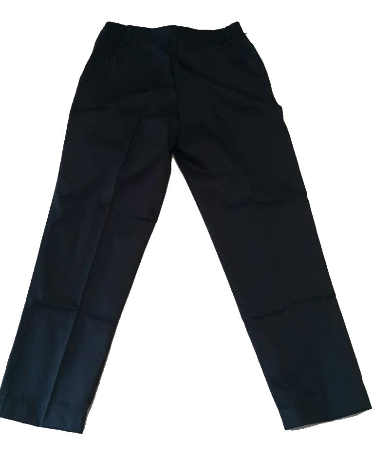 แบบกางเกงทำงานขายาว สีดำ