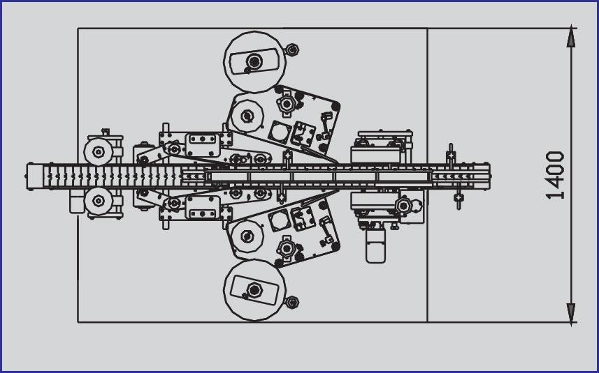STICKER LABELLING MACHINE MODEL B2000