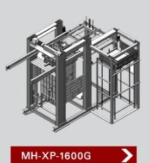 เครื่องจัดเรียงสินค้าบนพาเลท รุ่น MH XP 1600G