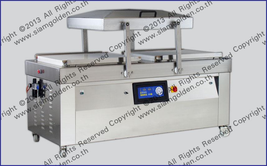 CONTINUOUS VACUUM MACHINE MODEL TFA 660x4