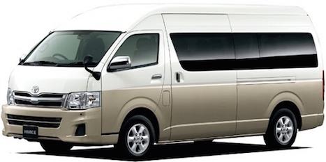 เช่ารถตู้ญี่ปุ่นพร้อมคนขับ