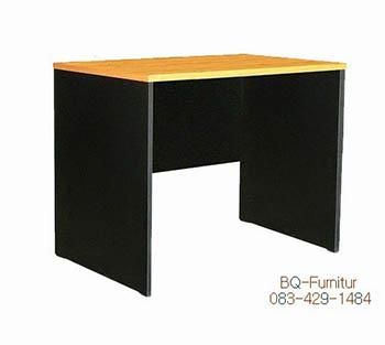 โต๊ะทำงานโล่งเมลามีน