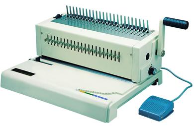 เครื่องเจาะกระดาษไฟฟ้าและเข้าเล่มมือโยก รุ่น RIESA