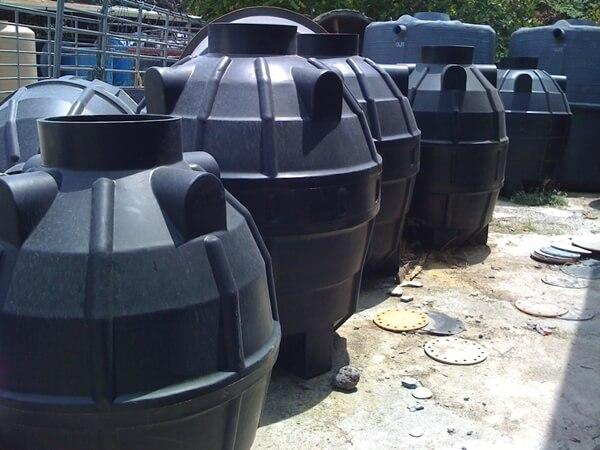 ถังบำบัดน้ำเสียพลาสติก PE รุ่น DCPE-1000