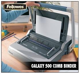 เครื่องเข้าเล่ม Fellowes รุ่น Galaxy 500