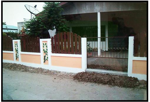 รั้วบ้านราคาถูก