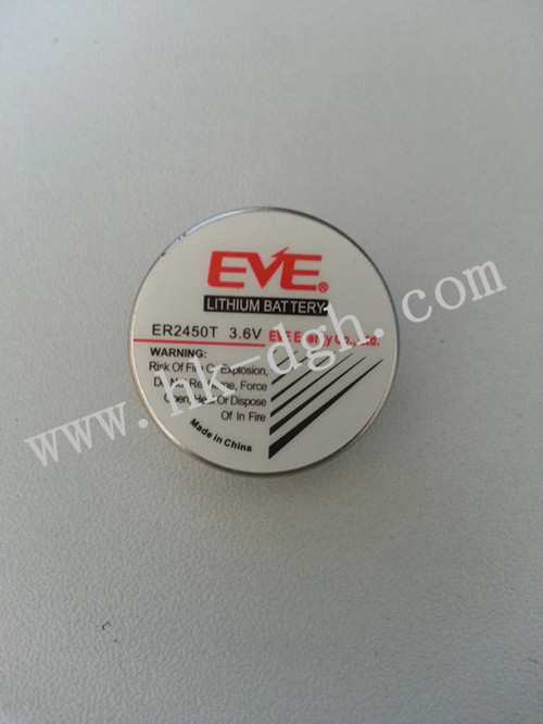 แบตเตอรี่ลิเธียม EVE ER2450T 3 6V