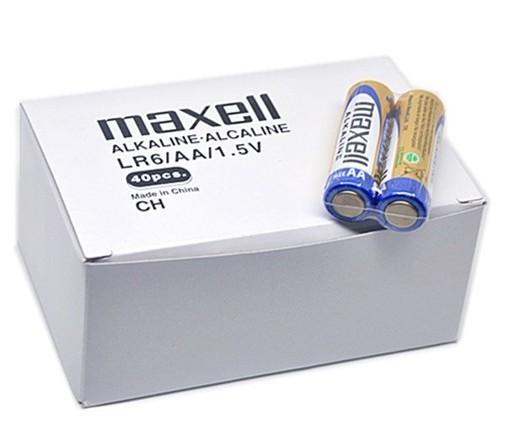 แบตเตอรี่ลิเธียม MAXELL LR6 AA