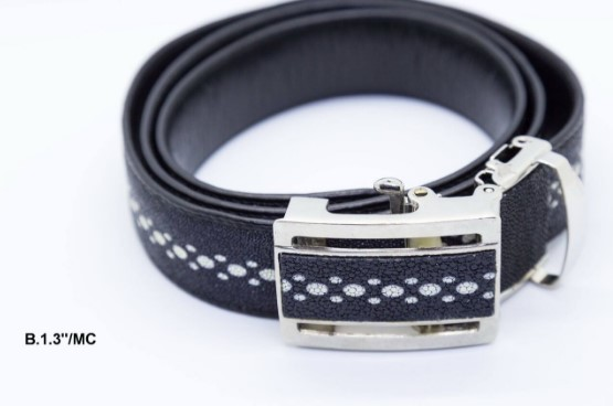 Black Leather Belt B 1 3 MC