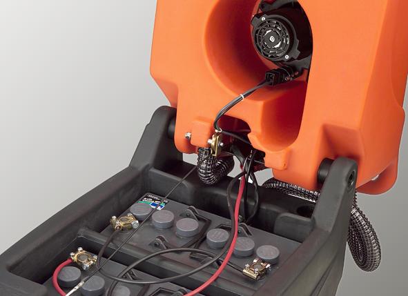 เครื่องขัดพื้น CTM รุ่น Swift E Evo50 Battery
