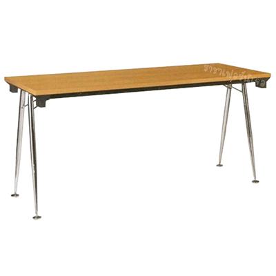 โต๊ะขาตัววีพับได้