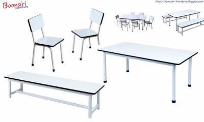 ชุดโต๊ะนักเรียนอนุบาล