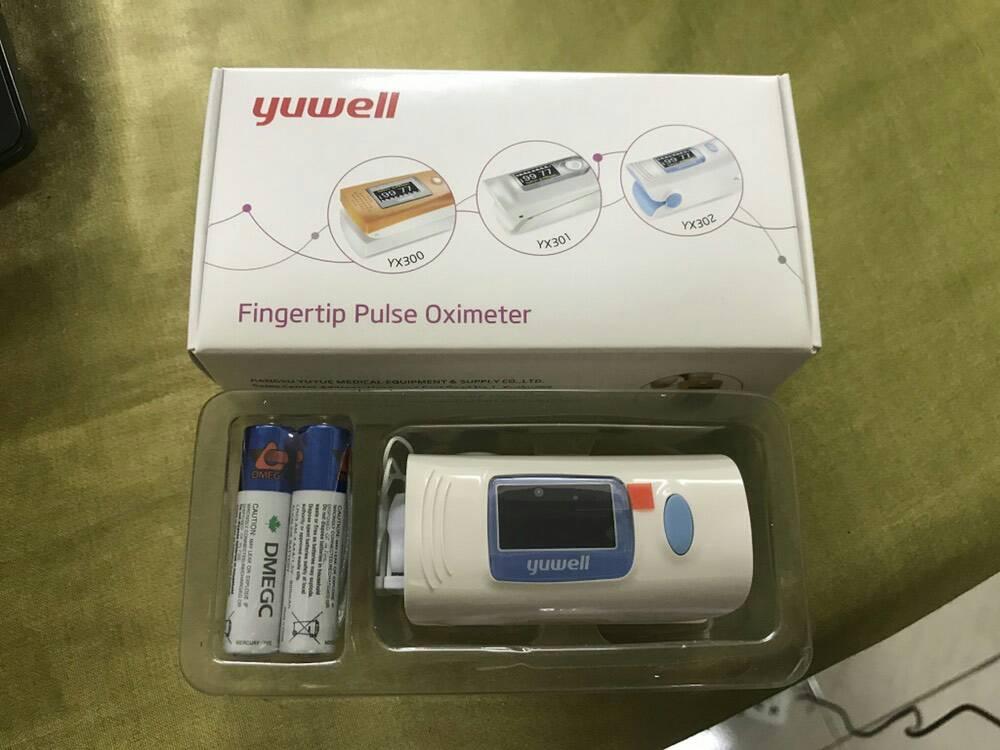 เครื่องวัดปริมาณออกซิเจนในเลือด YX302