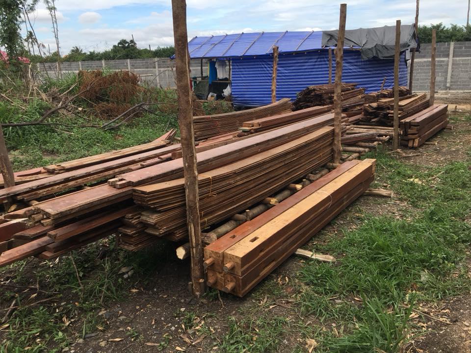 รับจัดไม้เพื่อสิ่งปลูกสร้าง