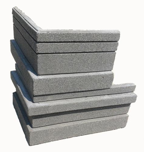 หินเทียมรุ่น Rich Stone เข้ามุม