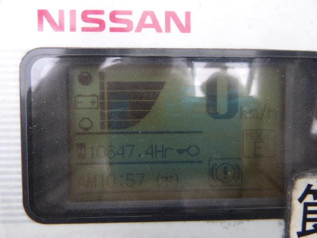 รถโฟล์คลิฟท์ NISSAN NK1B1L18 000511