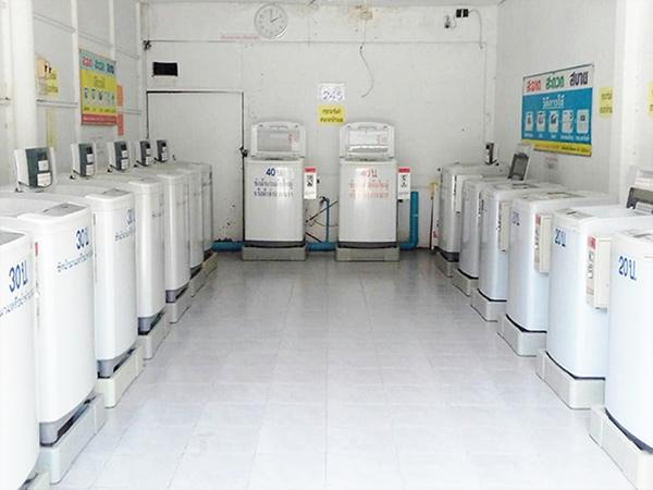 เครื่องซักผ้าหยอดเหรียญ LG 9KG. รุ่น WF-T9056TD
